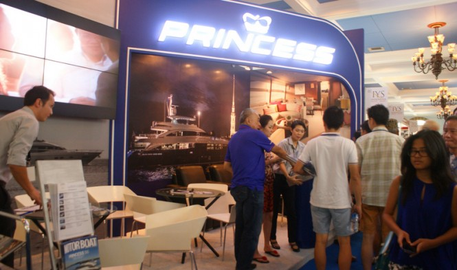 Princess Yachts at the IYS 2014
