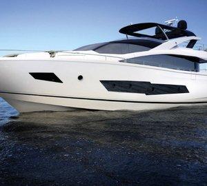 Launch of new 'Sunseeker 86 Yacht' motor yacht Hull #1