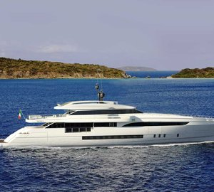 Motor yacht WIDER 150' taking shape in new WIDER shipyard in Ancona