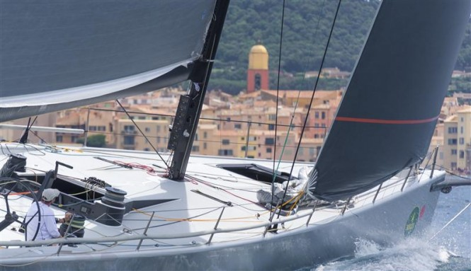 Sailing yacht ALEGRE (GBR) wins the final coastal race and her class in the Inshore Series - Photo by Rolex Carlo Borlenghi