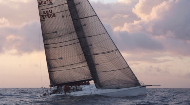Sailing yacht Shockwave - Photo credit to Barry Pickthall