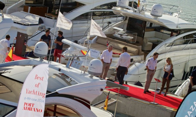 Sunseeker Mallorca at 'Best of Yachting' event in Port Adriano