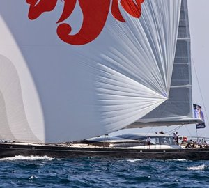 First coastal course of the Superyacht Cup Palma 2014