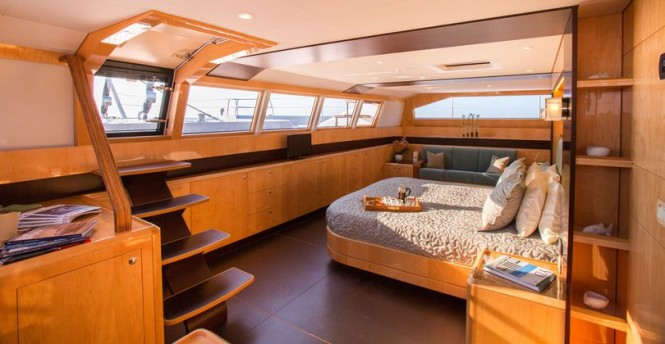 Superyacht WindQuest - Cabin
