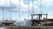 Superyacht refit and repair centre Varadero Valencia
