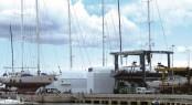Superyacht refit and repair centre Varadero Valencia