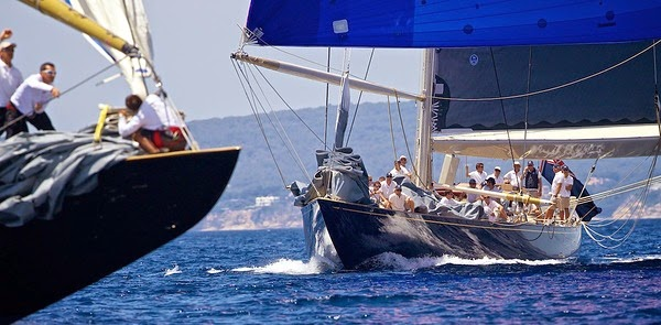 The J Class Yachts Practice Day
