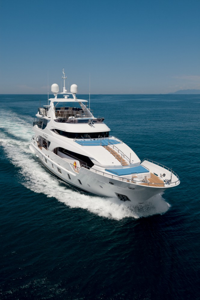 Tradition Supreme 108 luxury yacht MY PARADIS