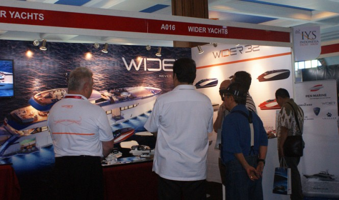 Wider Yachts at the IYS 2014