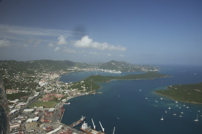 Yacht carriers - the US Virgin Islands - Photo credit to St Thomas Cargo