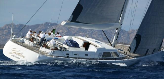 100-foot Frers Wally sailing yacht Gibian - Carlo Borlenghi