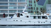 26m Feadship superyacht Olympia (ex Monara) with items by FEEBE