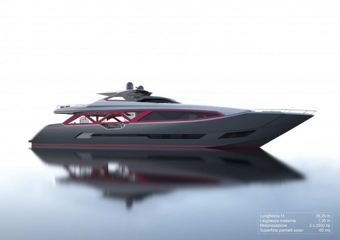 35m A-Sign superyacht concept