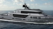 44m superyacht Poseidon concept unveiled by Rossinavi