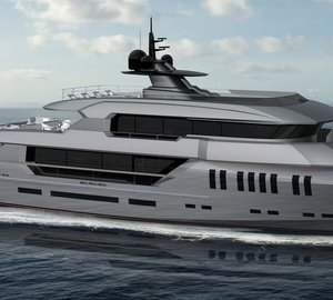 New 44m motor yacht POSEIDON concept unveiled by Rossinavi
