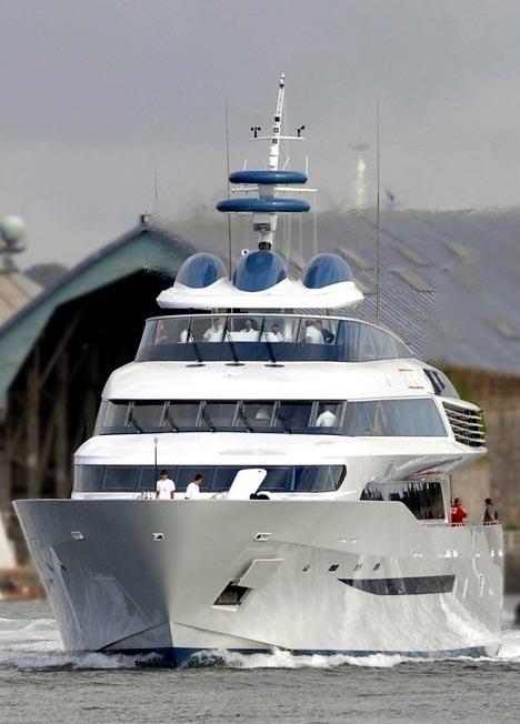 50m superyacht Alamshar (Project 305) - Image By Devonport
