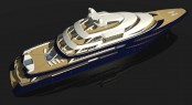 85m (280�) mega yacht NVC 85Y designed and powered by Rolls-Royce Marine