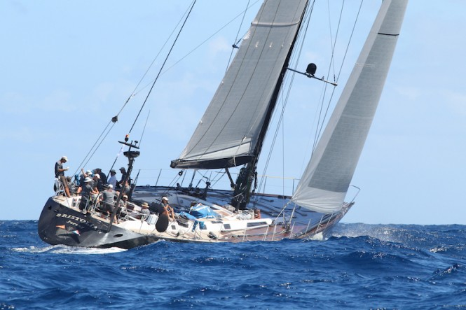 94-foot Frers sailing yacht Bristolian - Tim Wright