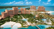 Atlantis Resort and marina in the fabulous Caribbean yacht charter destination - the Bahamas