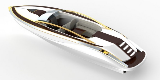 Avalonne luxury yacht tender concept