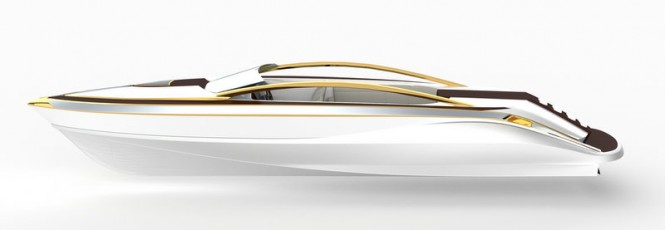 Avalonne superyacht tender concept by Gray Design