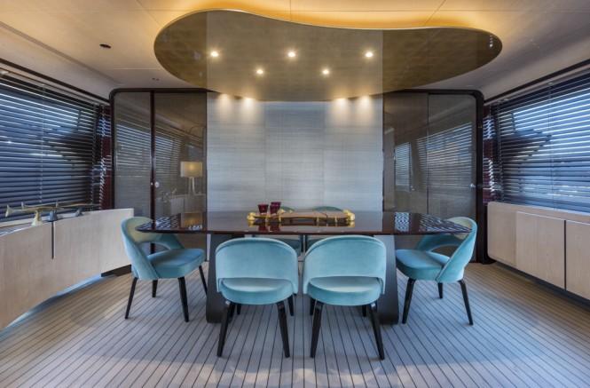 Azimut Grande 95RPH Yacht - dining