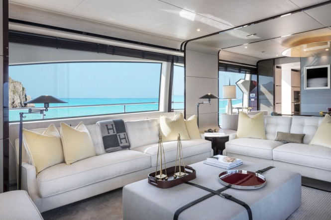 Azimut Grande 95RPH yacht - salon