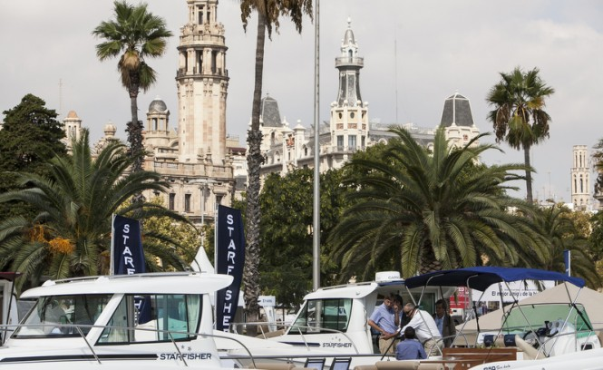 Barcelona Boat Show hosted by the glamorous Mediterranean yacht charter location - Barcelona in Spain
