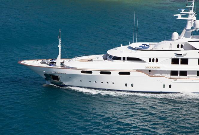 Charter Yacht STARFIRE
