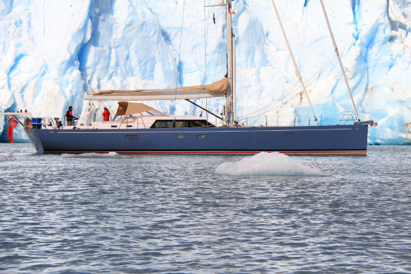 Claasen luxury yacht Louise in Patagonia