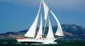 Classic sailing yacht Condesa del Mar