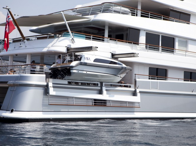 Cramm's superyacht hydraulic system