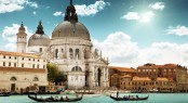 Dining in Venice on a Superyacht Charter in Italy