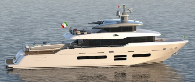 First Oceanic Yachts 90 STS motor yacht DOLCE VITA