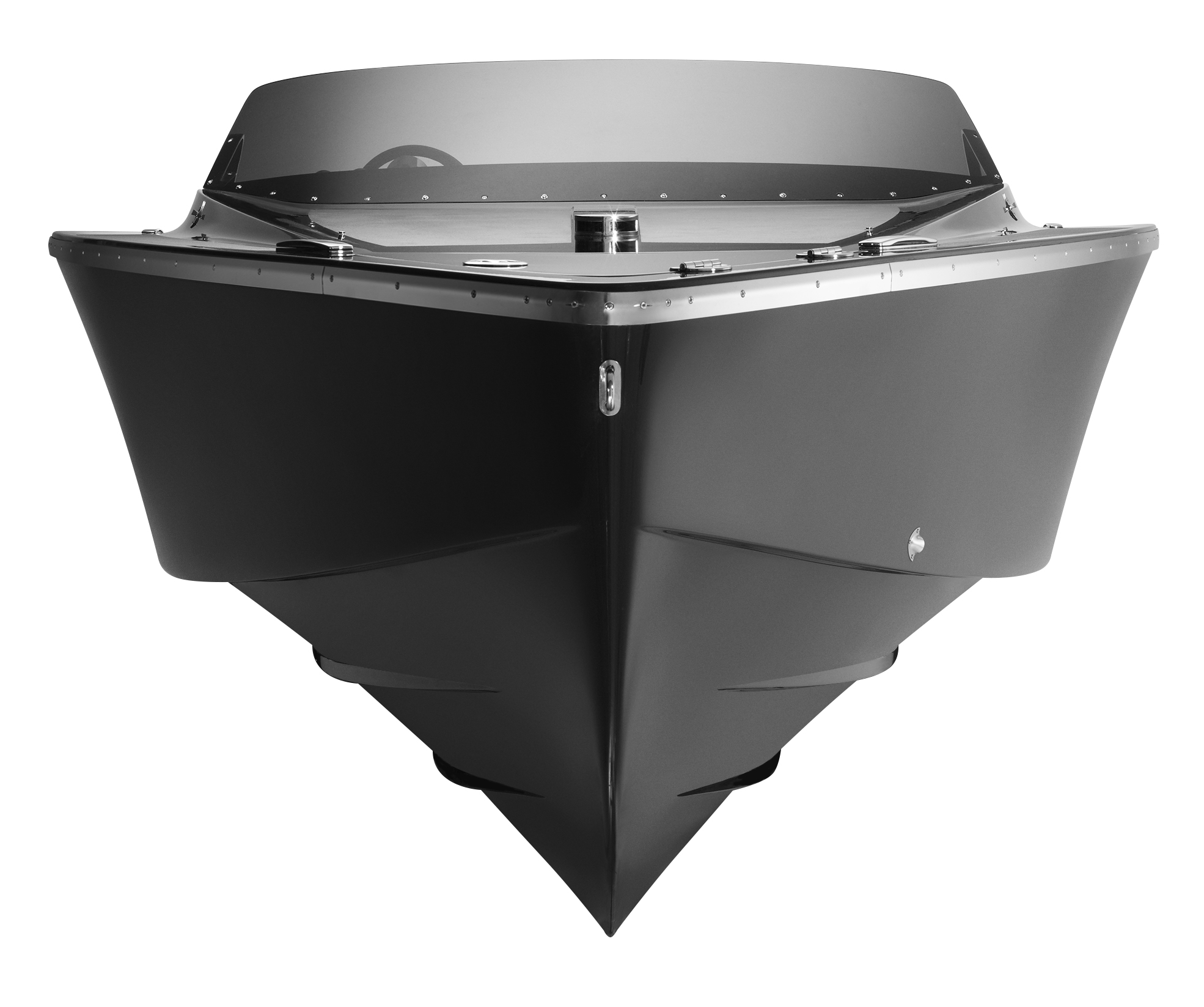 Frauscher 747 Mirage superyacht tender - front view — Yacht Charter & Superyacht News