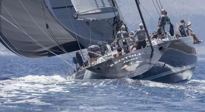 Frers 94 charter yacht Bristolian