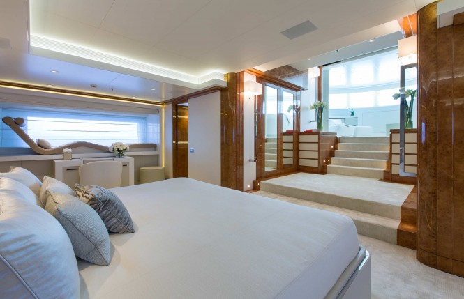 Galaxy superyacht - Cabin - Photo by Jeff Brown
