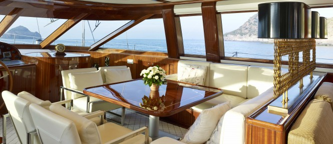 Glorious superyacht - Dining