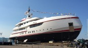 Horazio Bozzo-designed 54m ISA superyacht Forever One (Project Panorama) at launch