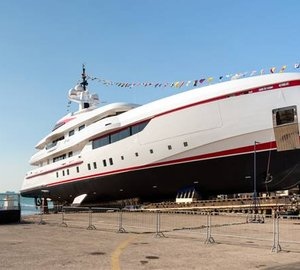 New 54m motor yacht FOREVER ONE launched by ISA YACHTS