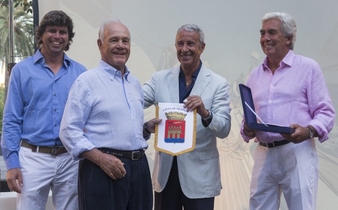 Prizegiving Ceremony - Frers superyacht Alarife - Image by Frers Cup/Carlo Borlenghi