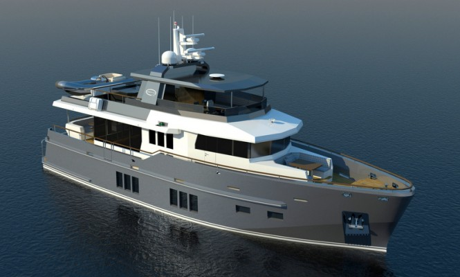 Luxury expedition yacht Bering 75 by Bering Yachts