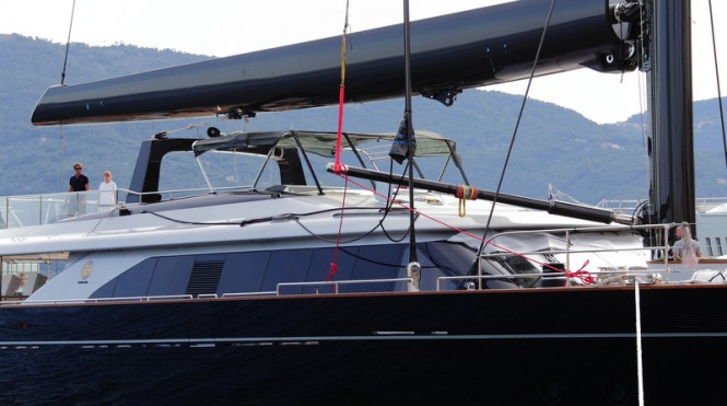 Luxury mega yacht Perseus3 by Perini Navi