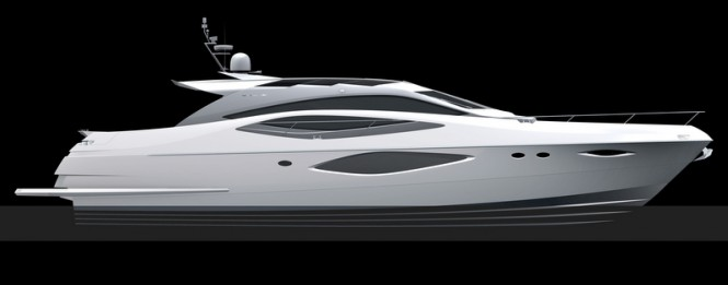 Luxury motor yacht Numarine 78 Evolution