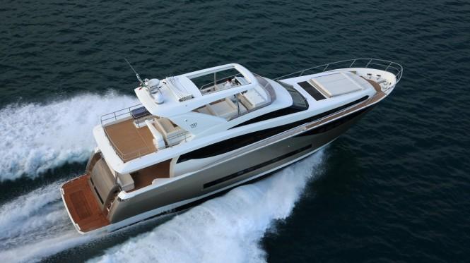 Luxury motor yacht Prestige 750 by Prestige Yachts