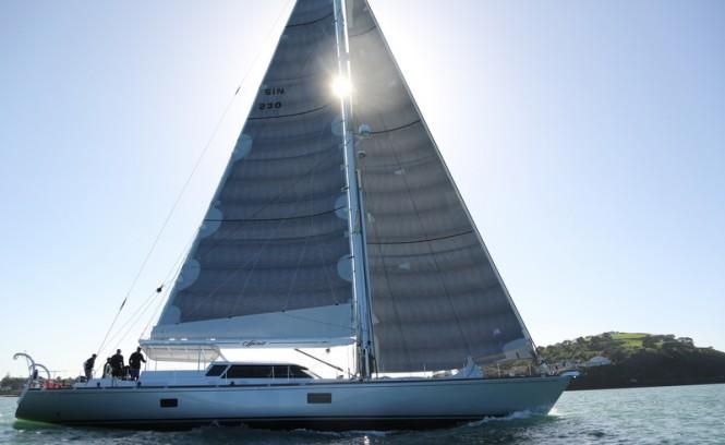 Luxury sailing yacht Spirit