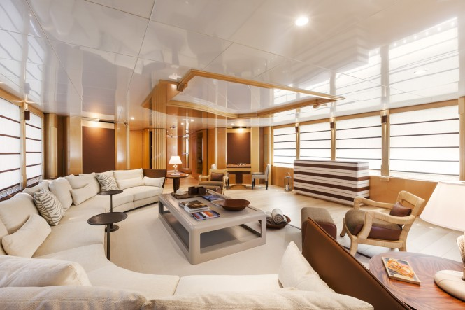 Luxury yacht Amore Mio 2 - Saloon