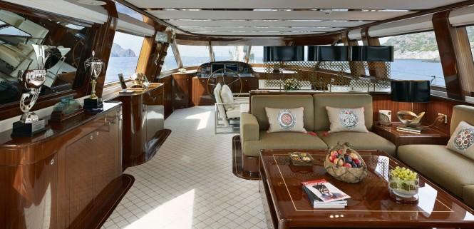 Luxury yacht Glorious - Interior
