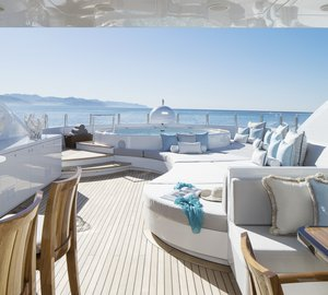 55m Proteksan Turquoise Motor Yacht TURQUOISE with refit project by H2 Yacht Design