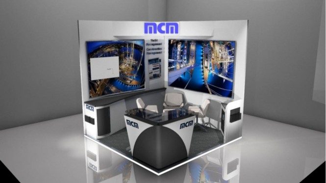MCM MYS 2014 booth - Photo credit to mcmnewport.com